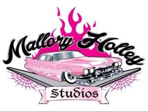 Mallory Holley Studios Logo designed by the Wright Way Designs