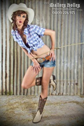 Mallory Holley Studios Cowgirl Photoshoot