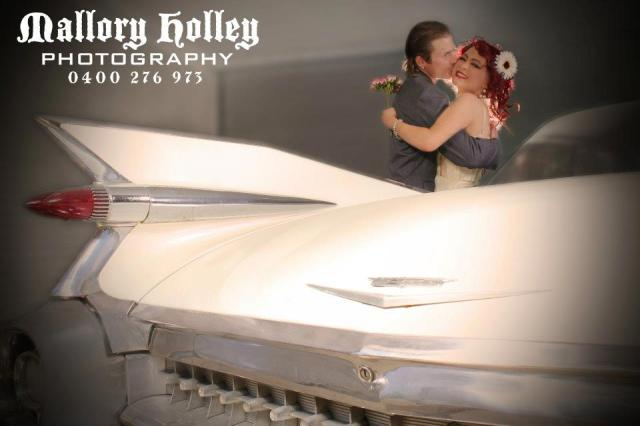 MALLORY HOLLEY PHOTOGRAPHY ENGAGEMENT SESSION 1959 CADILLAC WEDDING