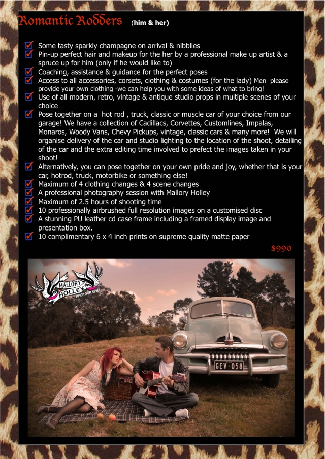 Retro Couples Packages 2
