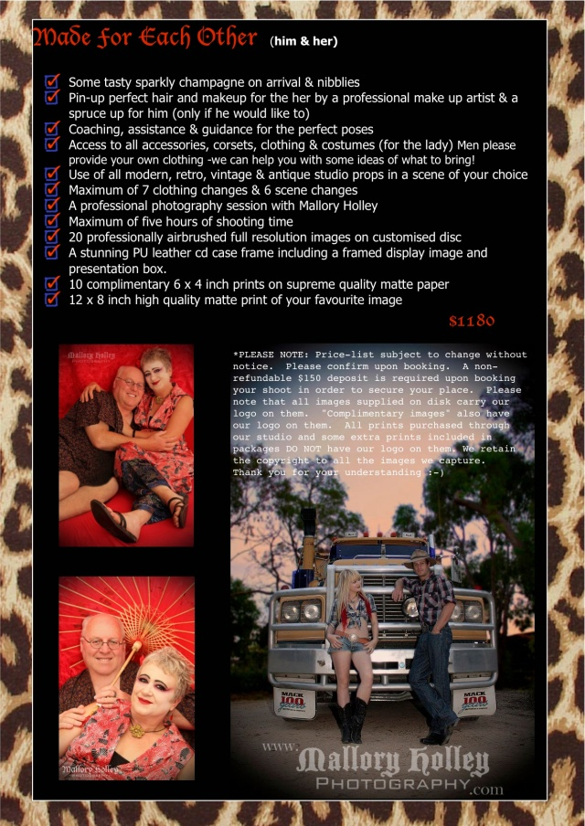 Retro Couples Packages 3