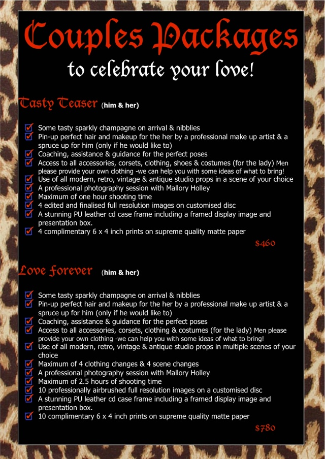 Retro Couples Packages1