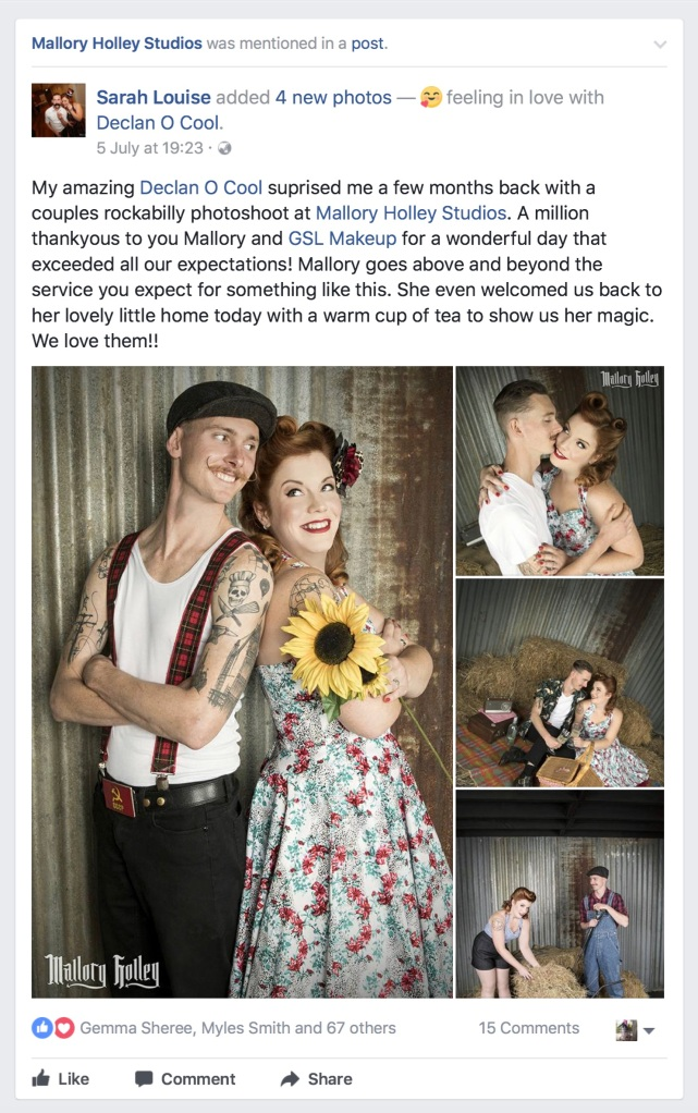 Couple's Photography Session Testimonial