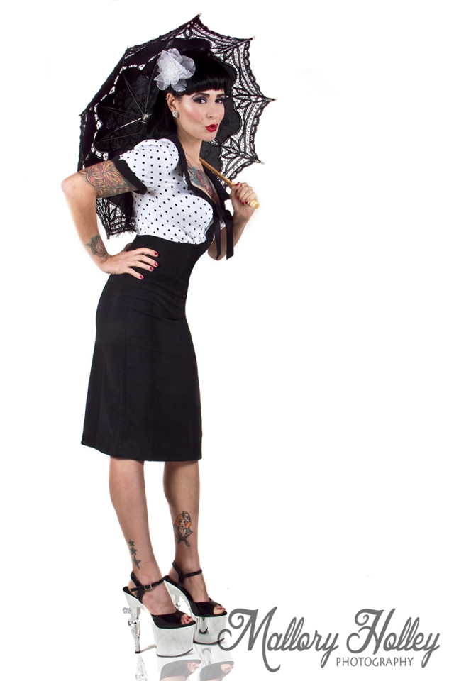 revolver gun shoes pin up dress me gorgeous