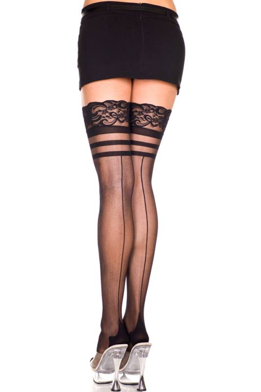 PIN UP SEAMED STOCKINGS 4135