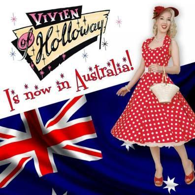 Vivien of Holloway is now in Australia