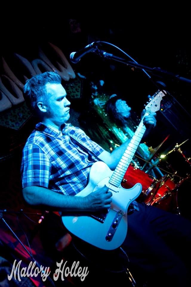 The Infernos' guitarist Steve Bird again.