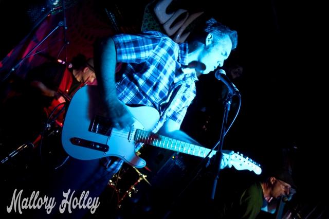 The Infernos' guitarist Steve Bird.