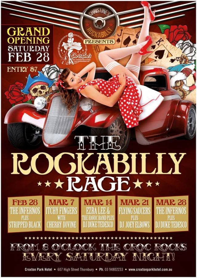 The Rockabilly Rage