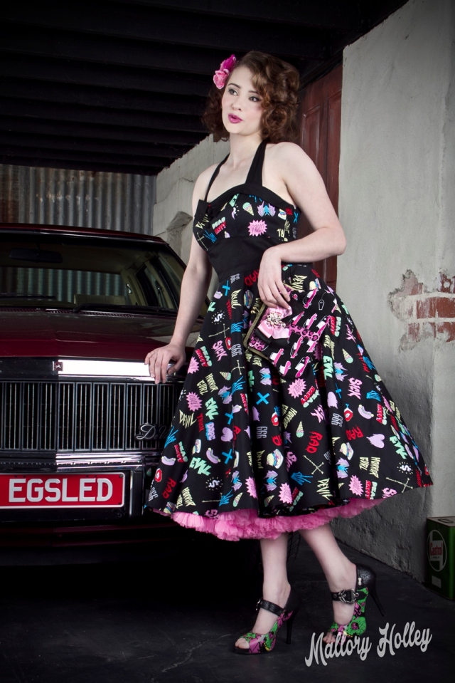 Pinup Photo shoot with WB Statesman