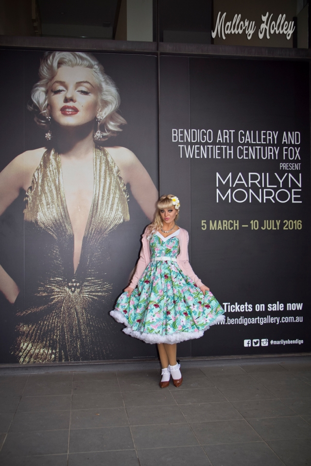 Bendigo Art Gallery and Twentieth Century Fox present Marilyn Monroe