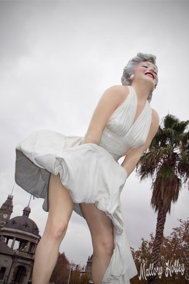 Forever Marilyn, Bendigo, Victoria, Australia