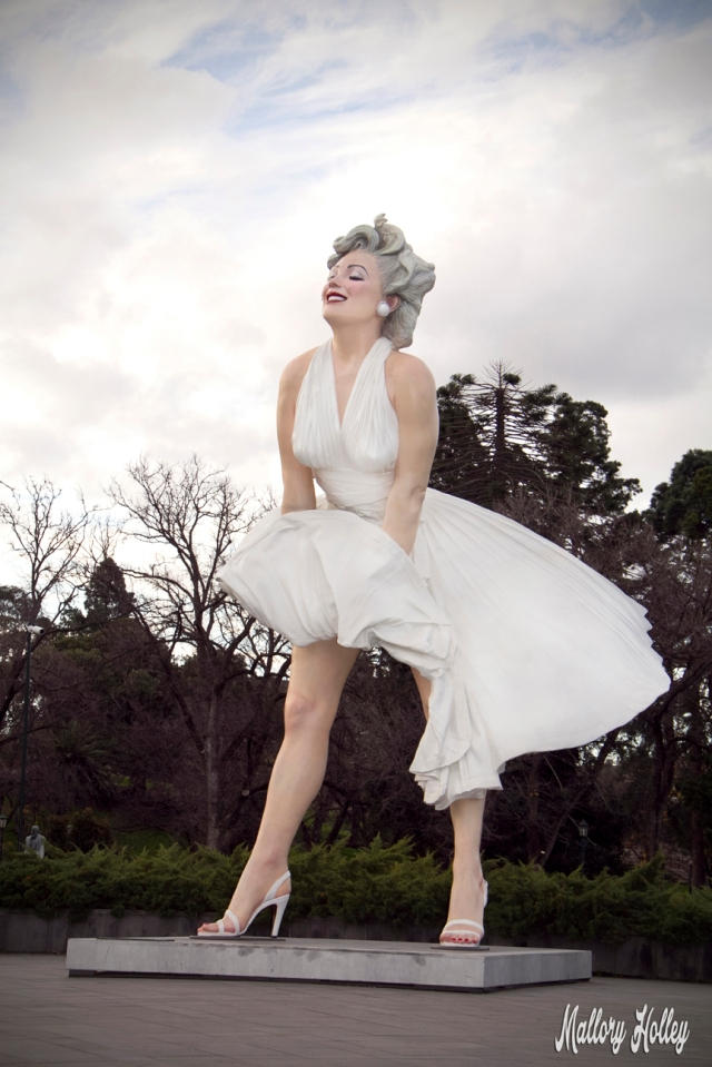 Forver Marilyn by Seward Johnson in Bendigo, Australia