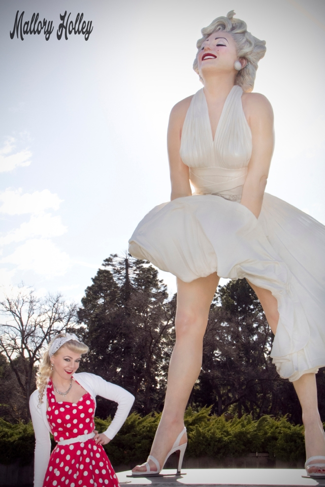Mallory and Forever Marilyn at Bendigo VIC