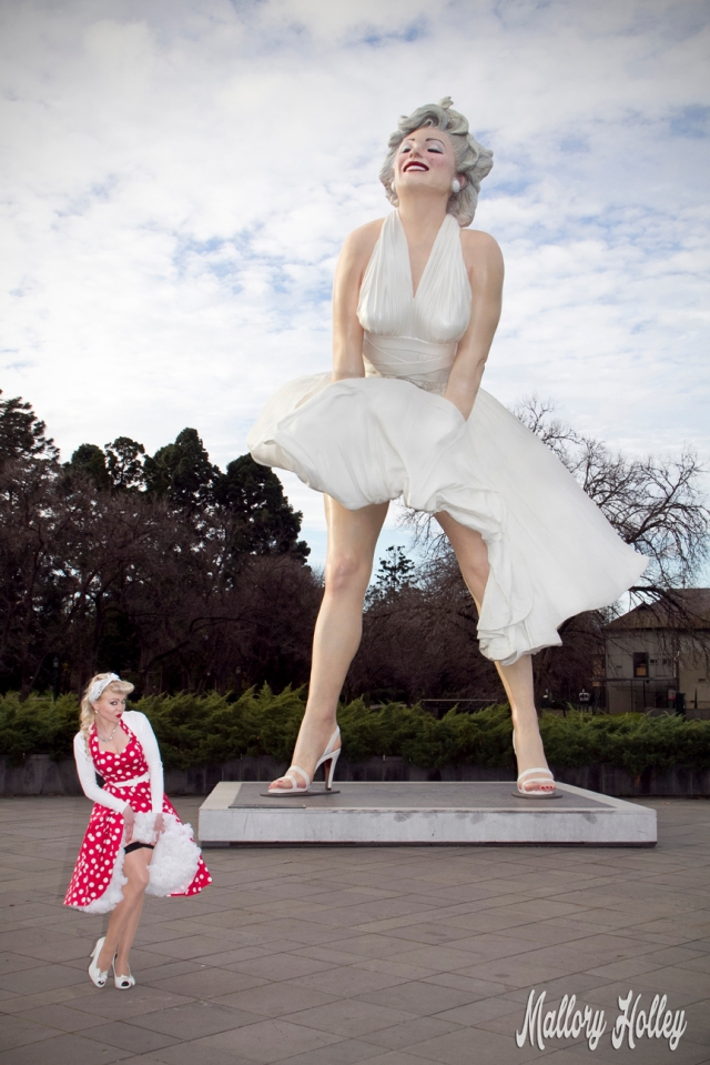 Mallory and Forever Marilyn, Bendigo VIC