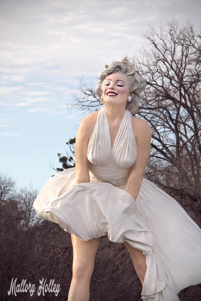 Seward Johnson's Forever Marilyn sculpture at Bendigo