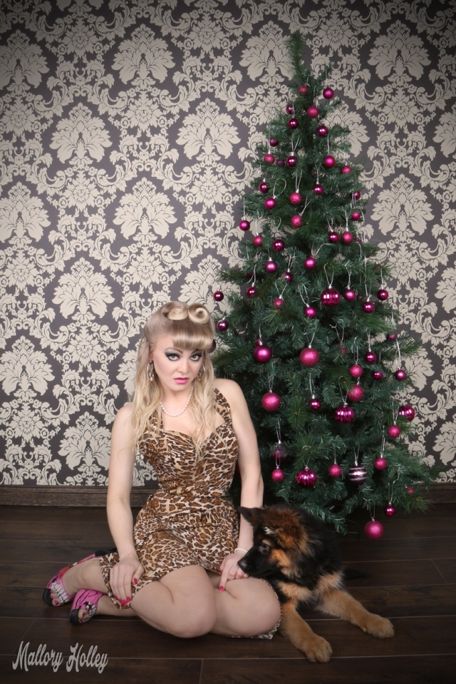 christmas-pinup-and-puppy-photoshoot-mallory-and-cadillac
