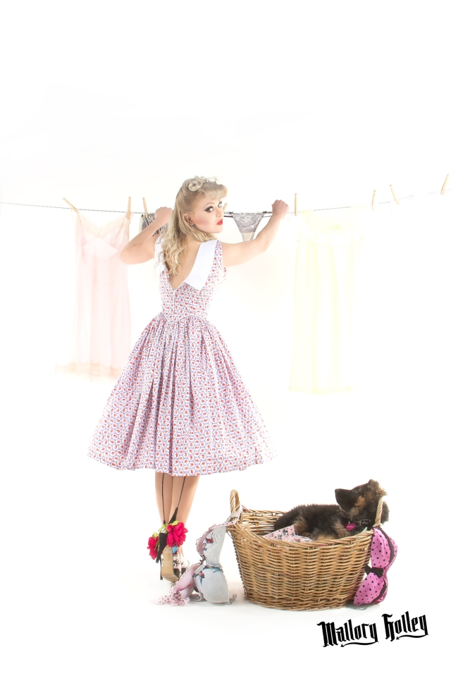 Pinup & Washing Line Photo Shoot